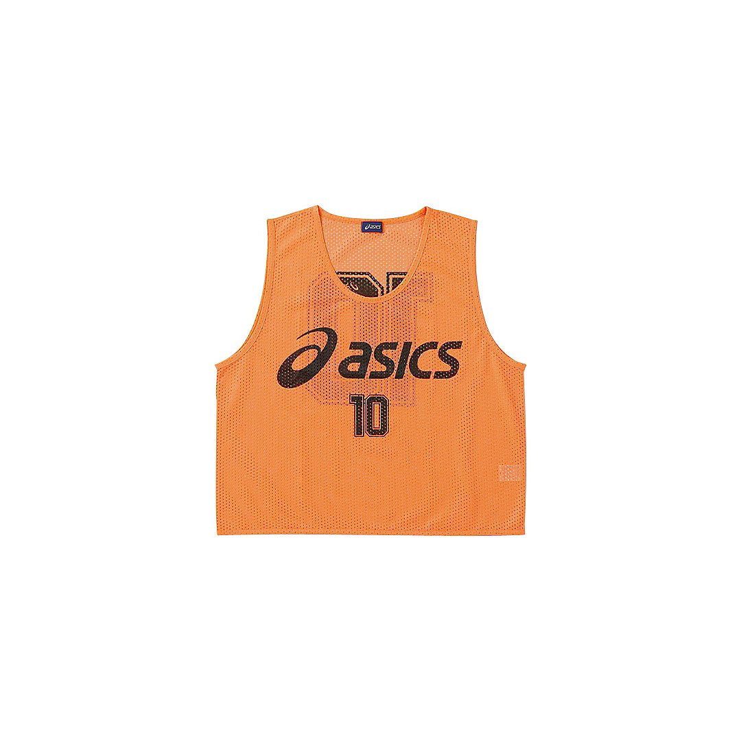 【送料無料】【asics アシックス[app]】【ウェア】サッカー ビブス XSG060 SAサッカー ビブス(10枚セット) フラッシュオレンジ 21