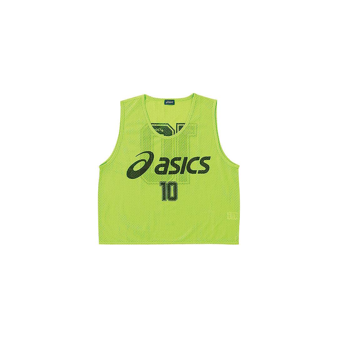 【送料無料】【asics アシックス[app]】【ウェア】サッカー ビブス XSG060 SAサッカー ビブス(10枚セット) フラッシュグリーン 81