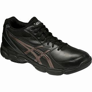 【asics アシックス】【シューズ 靴】バスケットボールシューズ FWバスケット GELJUDGE 3 TBF311 9075 ブラック/GNM[メール便不可]