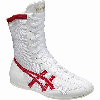 【送料無料】【asics アシックス】【シューズ 靴】ボクシングシューズ FWソノタ ボクシング MS TBX704 0123 ホワイト.R