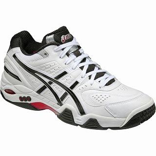 【送料無料】【asics アシックス[shoes]】【シューズ 靴】テニス テニスシューズ TLL702 FWテニス テニスシューズ(オムニコート用) オムニテレイン I-dual ホワイト×ブラック 0190