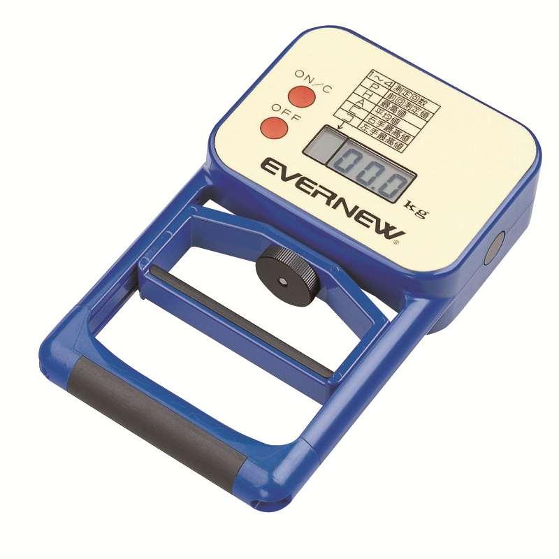 【送料無料】【エバニュー EVERNEW】 デジタル握力計  ekj077 エバニュー (EVERNEW) デジタル握力計