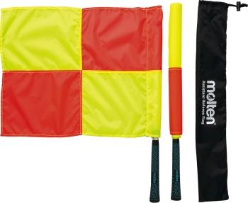 デポー molten モルテン FLN 高品質新品 サッカー アシスタントレフェリーフラッグ 設備 200411 備品