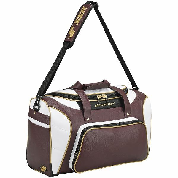 【SSK エスエスケイ】【スポーツバッグ】野球 バッグ ショルダーバッグ SSK-EBA4011 (2238)エンジ×ゴールド [200120] 父の日[刺繍可]