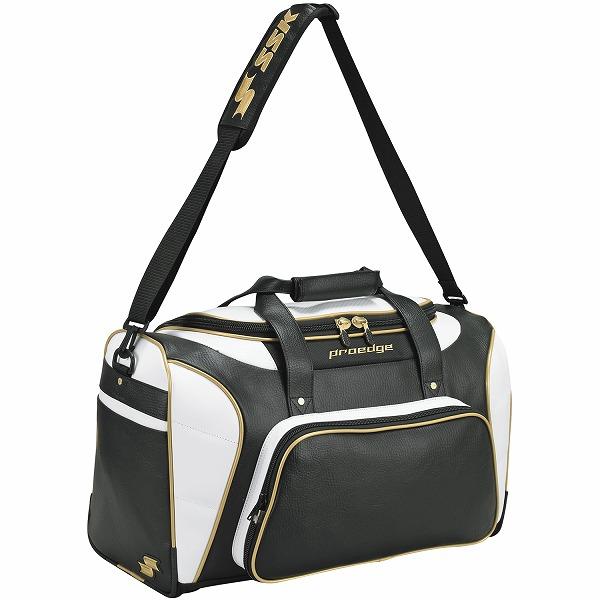 【SSK エスエスケイ】【スポーツバッグ】野球 バッグ ショルダーバッグ SSK-EBA4011 (9038)ブラック×ゴールド [200120]