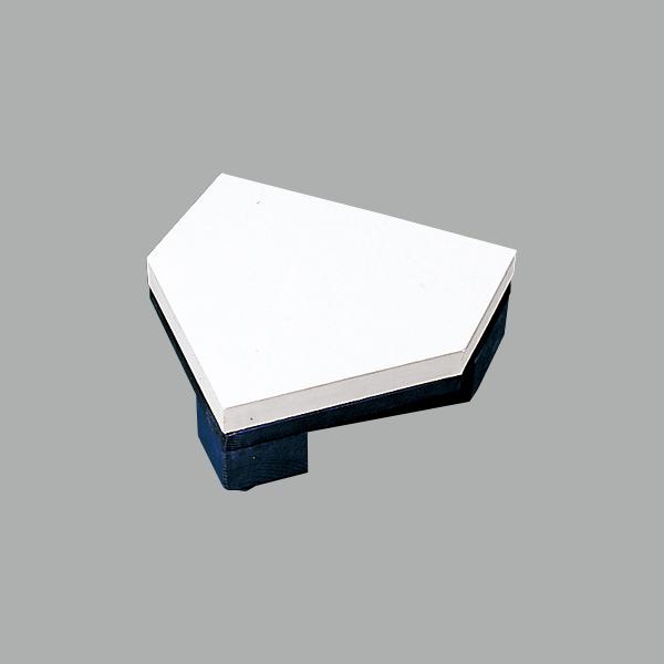 【送料無料】【SSK】【設備・用具】野球 ベース エスエスケイ 木台付ホームベース SSK-YH400
