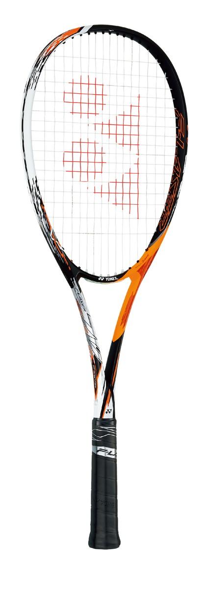 【送料無料】【YONEX ヨネックス】【2019年春夏モデル】【ラケット】 ソフトテニスラケット FLR7V ソフトテニス ラケット選手用 エフレーザー7V/F-LASER 7V サイバーオレンジ 814[190403]