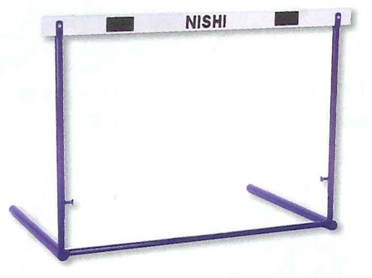 【別途送料がかかります。見積もり承ります】ABS樹脂バー! NISHI  ニシスポーツ 高校・一般用 クラッチ調節式ハードル G1023C【smtb-k】【kb】