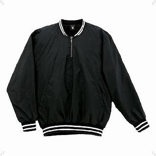 【DESCENTE デサント】【ウェア】野球 長袖プルオーバーコート  STD-410 STD410 BLK ブラック[メール便不可]