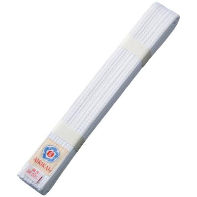 【ミツボシ 】合気道用帯 合気道会公認 晒帯 275cm #4 Y02004 ホワイト