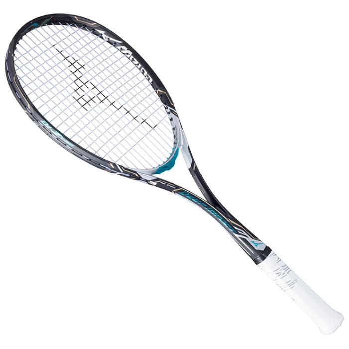 【送料無料】【Mizuno ミズノ cs_tn】【ラケット】 ソフトテニスラケット ディーアイ Zツアー 63JTN74220 ソリッドブラック×メタルブルー