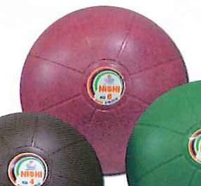 【NISHI ニシスポーツ】【トレーニング用品】陸上 トレーニングボール ネオメディシンボール 6kg ゴム製 NT5886C ピンク[メール便不可]