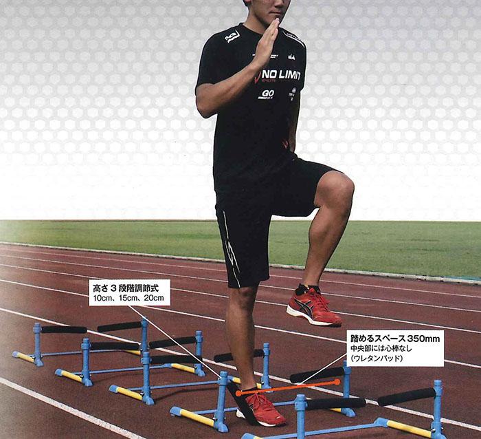 【送料無料】【NISHI ニシスポーツ】【トレーニング用品】陸上 ステップオンフレキ(5台組) トラック競技 NT7105