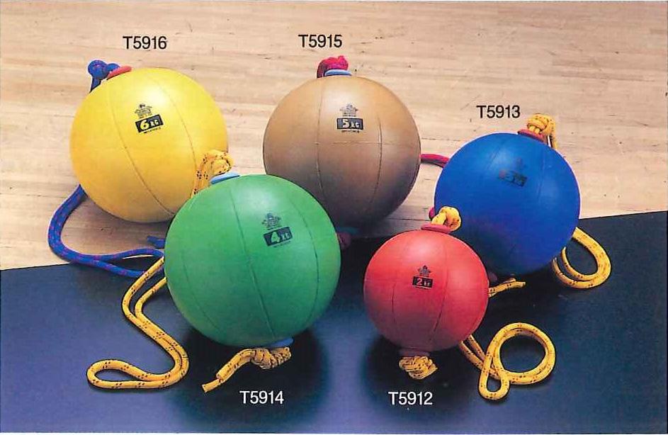 【送料無料】【NISHI ニシスポーツ】【陸上競技用品】トレーニング スウィングメディシンボール 5kg 直径29cm ブラウン T5915