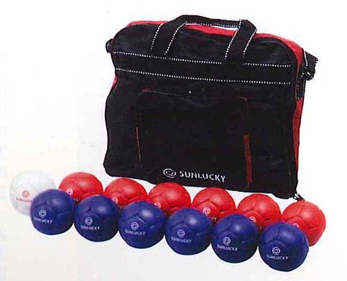 【送料無料】【サンラッキー SUNLUCKY】【ボッチャ】ニュースポーツ ボッチャゲーム用ボールセット  SRP-520 SRP520 父の日