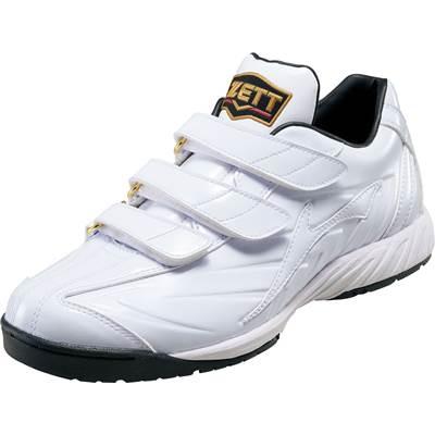 【送料無料】【ZETT ゼット】【シューズ 靴】野球 トレーニングシューズ プロステイタス BSR8696W [190317]