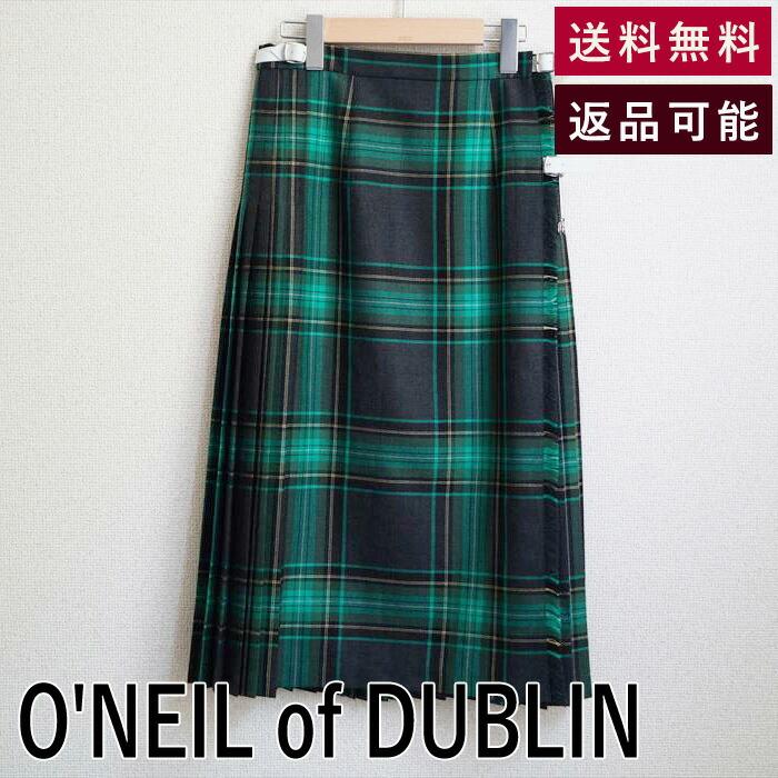 【中古】オニールオブダブリン O'NEIL of DUBLIN スカート US8 サイズS相当 グレー D0421U001-D0501