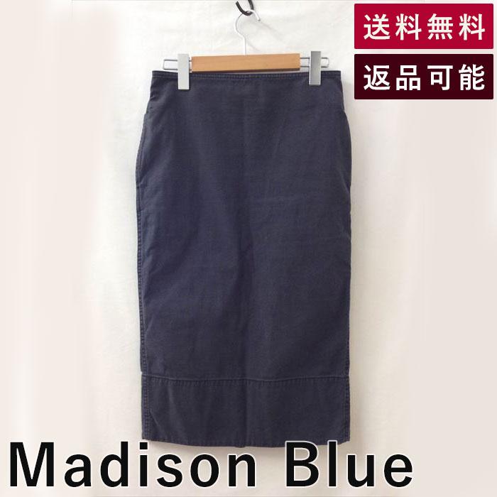 【中古】Madison Blueマディソンブルースカートタイトひざ丈スリット| マジソンブルー スタイル シンプル 大人女子 着こなし ニット シンプル ベーシック 大きいサイズ おしゃれ 40代 かっこいい レディース 長め ロング ミディアム おしゃれ かわいい シンプル 柄 着回し