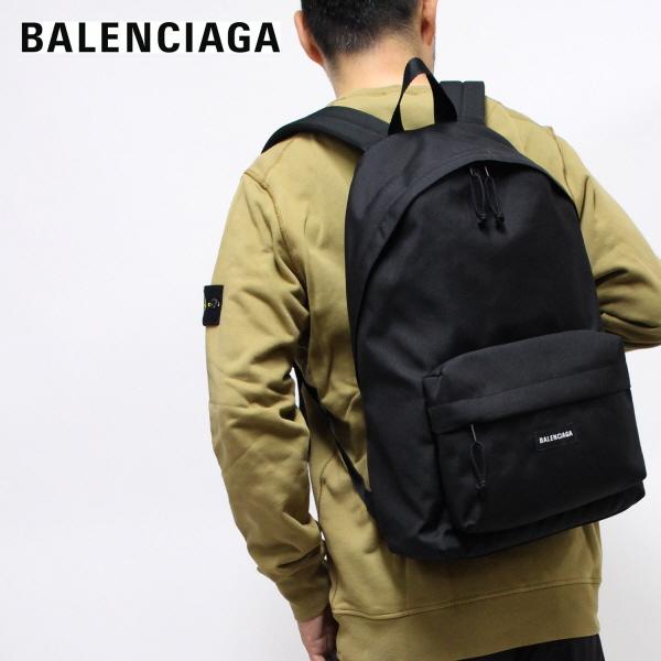 バレンシアガ BALENCIAGA EXPLORER BACKPACK バックパック・リュック【ブラック】503221 2VZ37 1000/【2021SS】l-bag