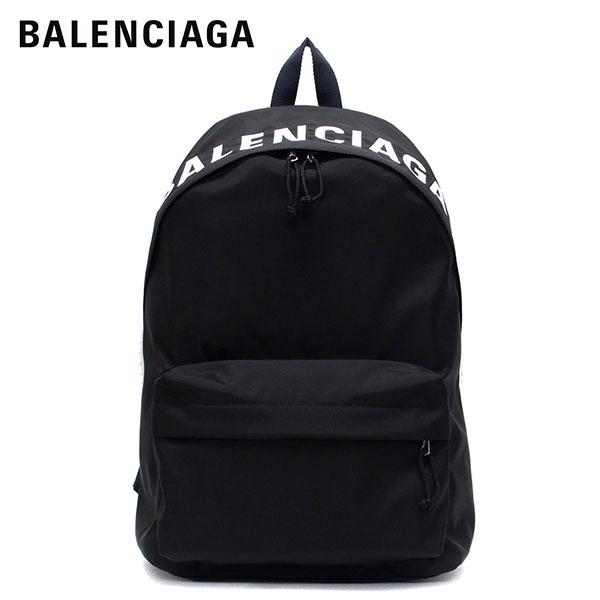 【2020SS】バレンシアガ WHEEL BACKPACK ナイロン バックパック・リュック【ブラック×ネイビーブルーベルト】507460 HPG1X 1090/BALENCIAGA/m-bag