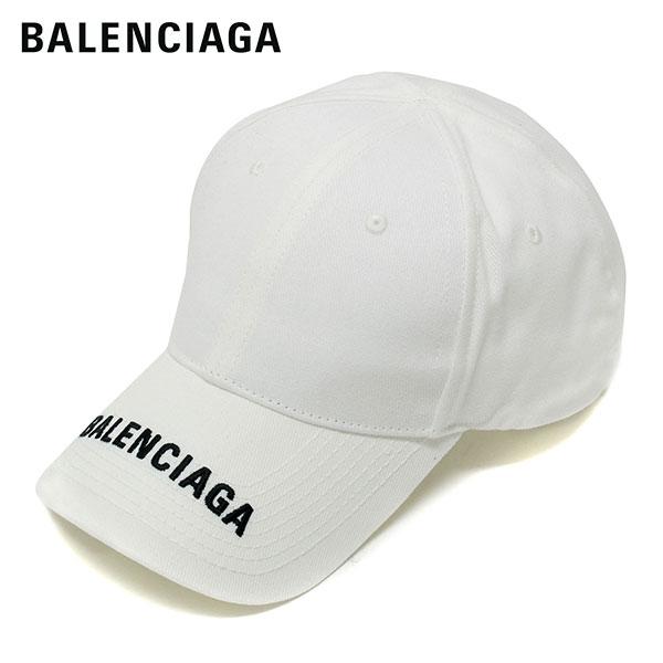 【2020SS】バレンシアガ HAT BAL LOGO VISOR ベースボールキャップ【ホワイト】531588 410B2 9060/BALENCIAGA/goods