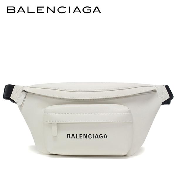 【2019SS】バレンシアガ EVERYDAY L BELT PACK ボディバッグ【ホワイト】552375 DLQ4N 9060/BALENCIAGA/l-bag