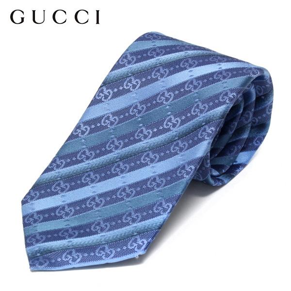 【2020SS】グッチ ネクタイ necktie【ライトブルー/ストライプ】499697 4B002 4269/GUCCI/necktie