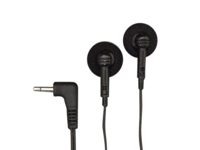 付与 両耳用ダイナミック型モノラルインナーイヤホン1m2.5ΦL型ポスト投函配送 激安通販専門店