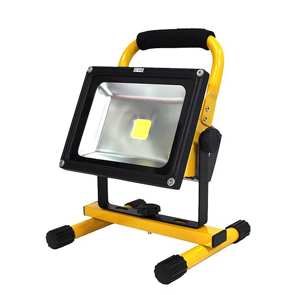 投光器 SMD ワークライト 充電式 ポータブル LED ライト