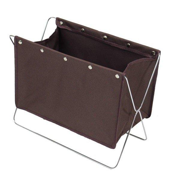 大決算セール バッグや手荷物を直接床に置かなくていいボックス 収納ボックス 手荷物 かばん置き 折りたたみ式 マガジンラック バックラック 爆買い送料無料 ストレージBOX