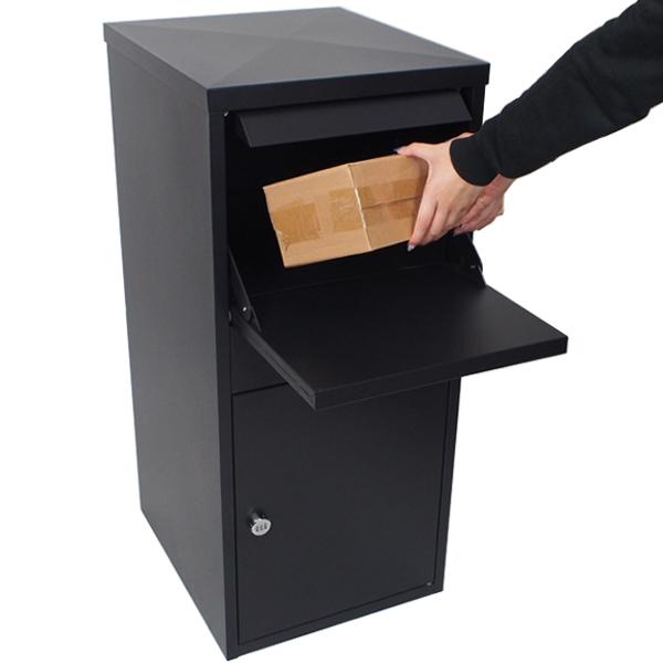 宅配ボックス 一戸建て用 不在ボックス 宅配BOX 郵便受け アパート マンション 簡単 設置