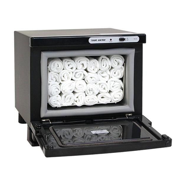 タオルウォーマー ホットキャビ 7.5L 小型 前開き式 ホットボックス タオル入れ  おしぼり入れ