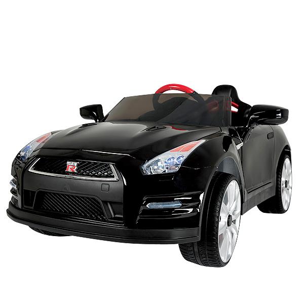 電動乗用カー GTR nissan 電動自動車 プロポ付 電動乗用玩具 車 ラジコン 玩具 おもちゃ くるま こどもの日 誕生日 クリスマス プレゼント のりもの パーティー 贈り物