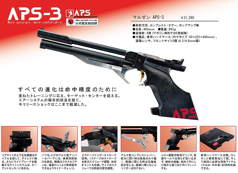在结束了再接受精确射击气枪 APS-3 6 个月