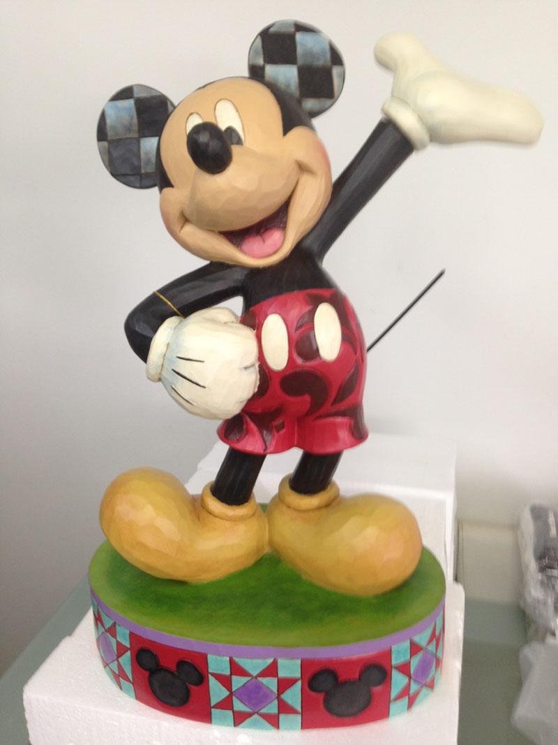 ミッキーマウス フィギュア 限定品 高さ61cm One and Only 等身大フィギュア