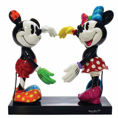 ミッキーとミニーマウス フィギュア ダンス BRITTO<ディズニーコレクション ブリット>