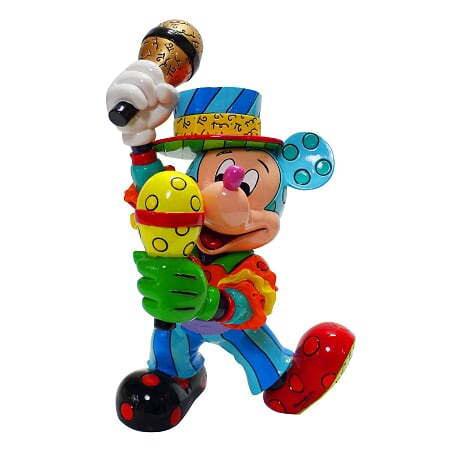 ミッキーマウス フィギュア ミッキー サンバ BRITTO<ディズニーコレクション ブリット>