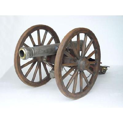 南北戦争時の大砲フィギュア