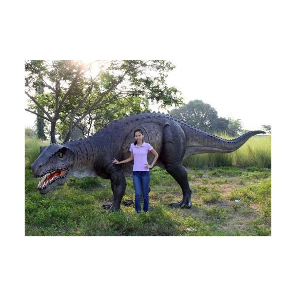 高さ2m!ポストサクス 巨大フィギュア(恐竜等身大フィギュア)