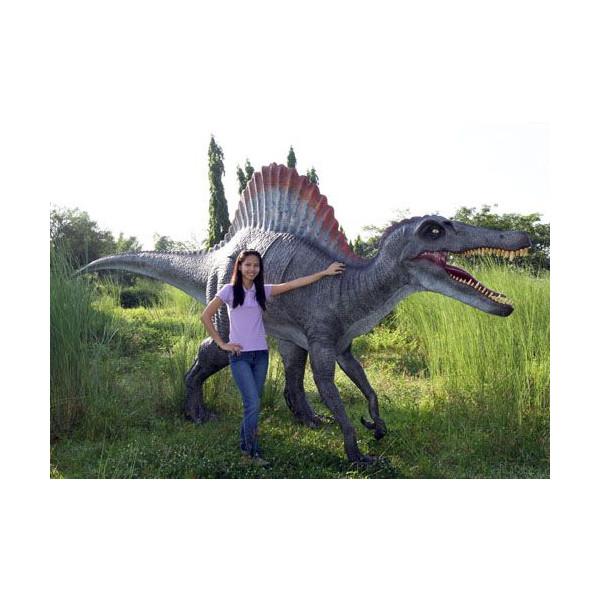 高さ2.3m超!スピノサウルス 巨大フィギュア(恐竜等身大フィギュア)
