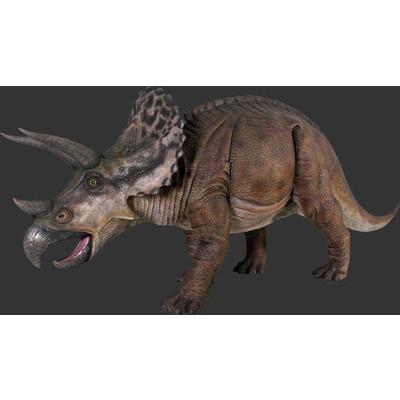 全長4.3m!トリケラトプス巨大フィギュアB(恐竜等身大フィギュア)