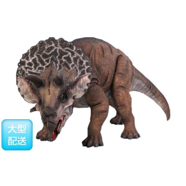 小型版 トリケラトプス (恐竜等身大フィギュア)