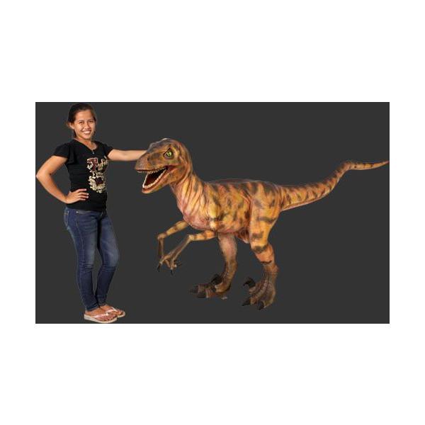長さ287cm!ディノニクス 等身大フィギュア(恐竜等身大フィギュア)