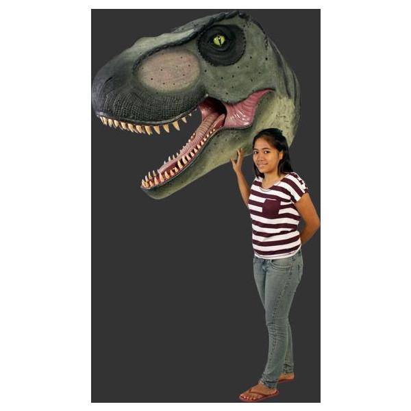 T-REX・ティラノサウルス 巨大ヘッド・ビッグフィギュア(壁掛けタイプ)恐竜