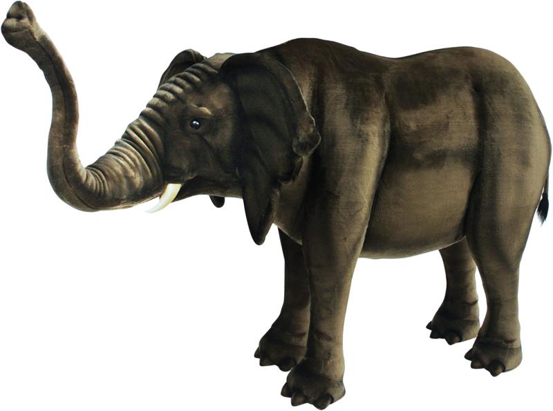 アニマルビッグフィギュアHANSAぬいぐるみ【アフリカ ゾウ(全長:150cm)】(等身大フィギュア)