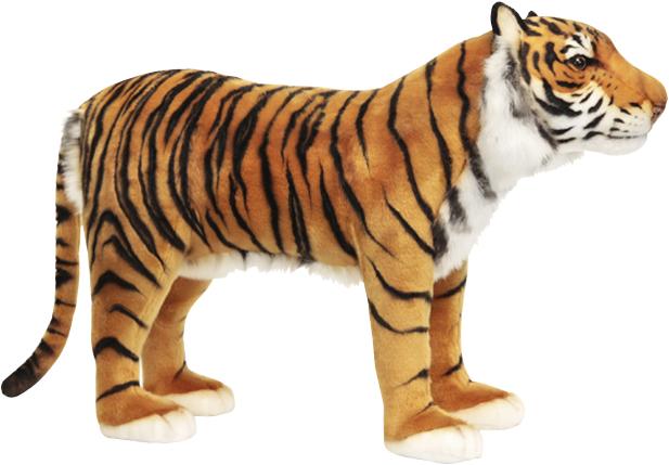 アニマルビッグフィギュアHANSAぬいぐるみ【スツール 椅子 トラ (タイガー)】(等身大フィギュア)