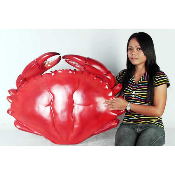 長さ87cm!巨大カニ(Crab)フィギュア(等身大フィギュア)