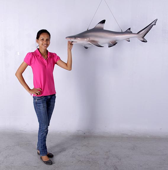 小型 シャーク(サメ) フィギュア・吊り下げ(等身大フィギュア)