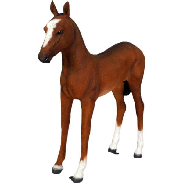 アニマルビッグフィギュアシリーズ【可愛い仔馬(ウマ)】(等身大フィギュア)