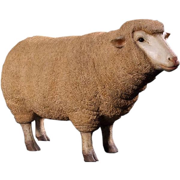 アニマルビッグフィギュアシリーズ【メリノ種の雌ヒツジ(羊】(等身大フィギュア)